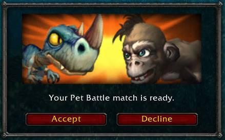 Pet Battle WoW Invite