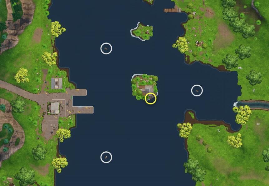 Suche Zwischen 3 Booten