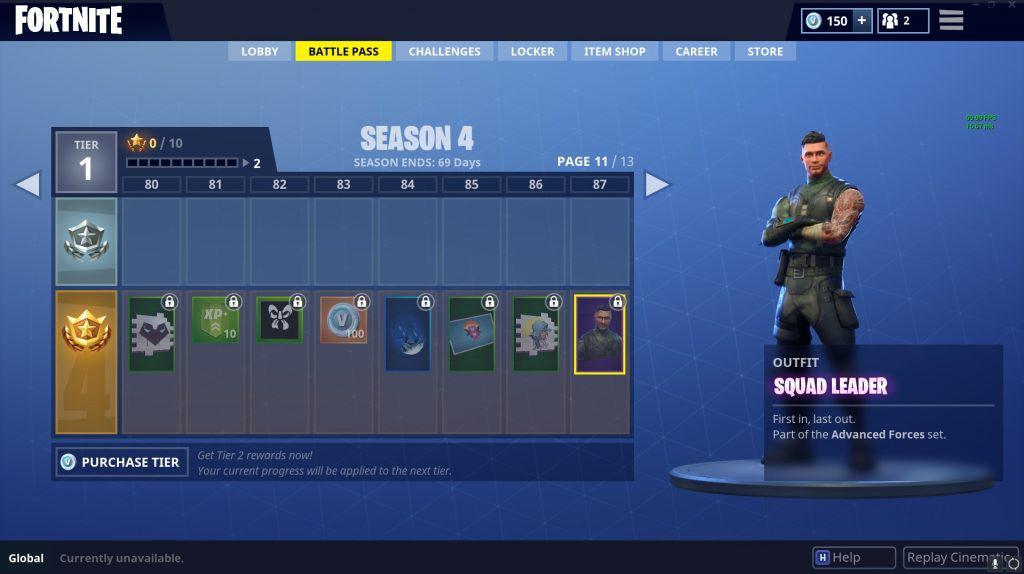 Fortnite Skin Squad-Leader