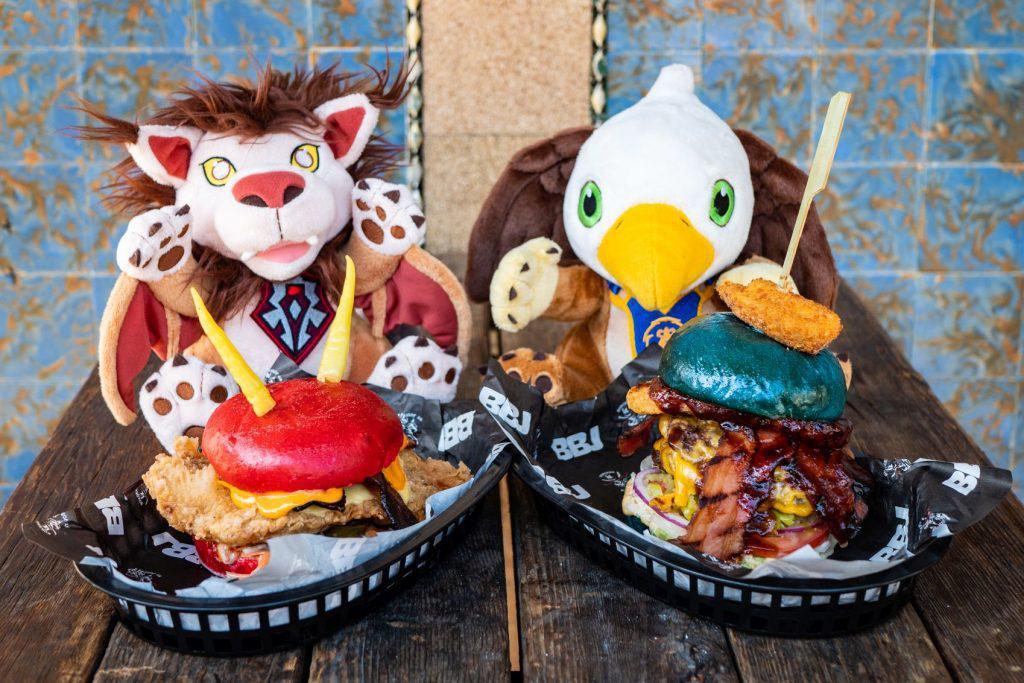 wow battle for azeroth burgers by josh sydney burger