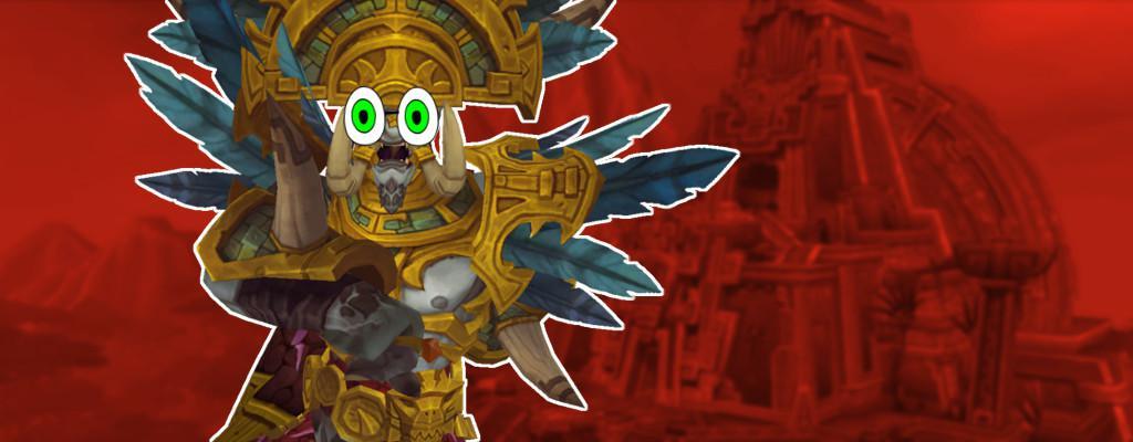 WoW Troll Rastakhan Death title 2 googly eyes