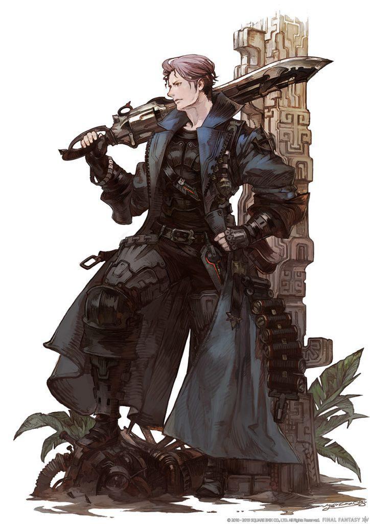 final fantasy xiv revolverklinge artwork