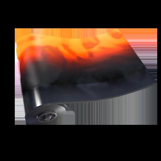 Magma Lackierung