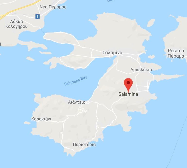Salamis Pokemon GO Maps