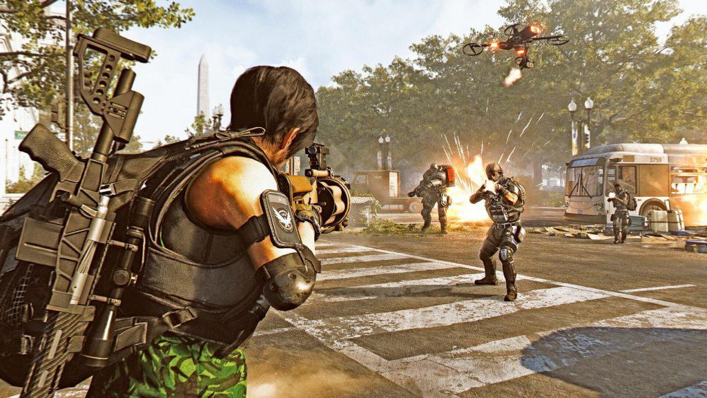 The Division 2 Kampf Screenshot
