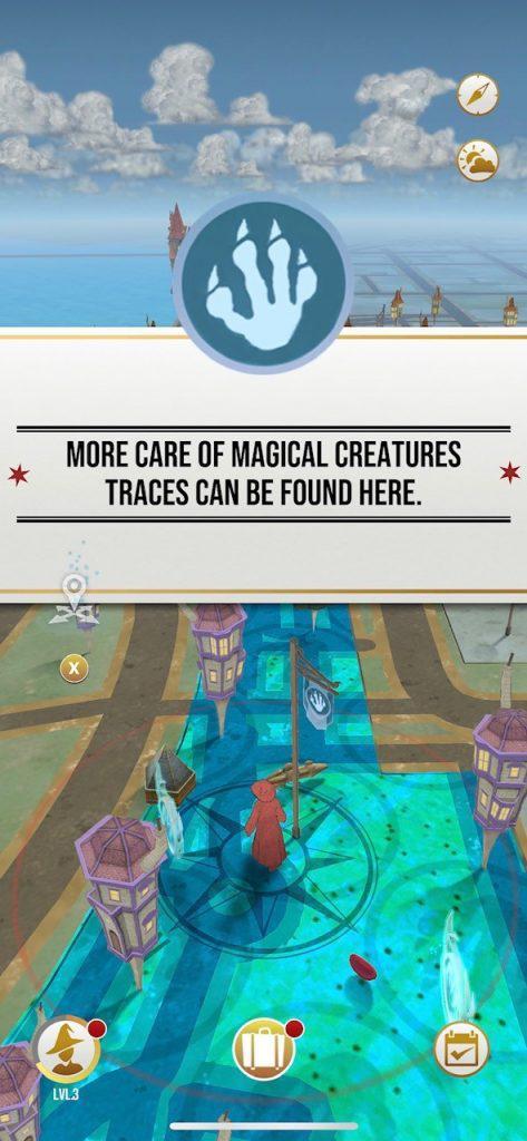 Harry Potter: wizards Unite Karte
