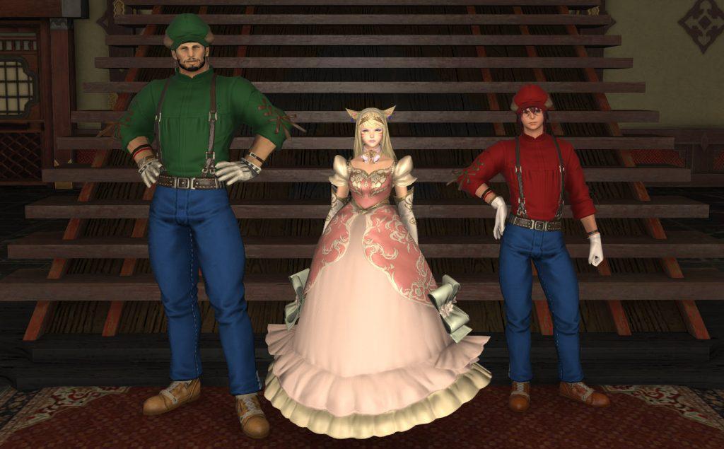 final fantasy xiv super mario cosplay